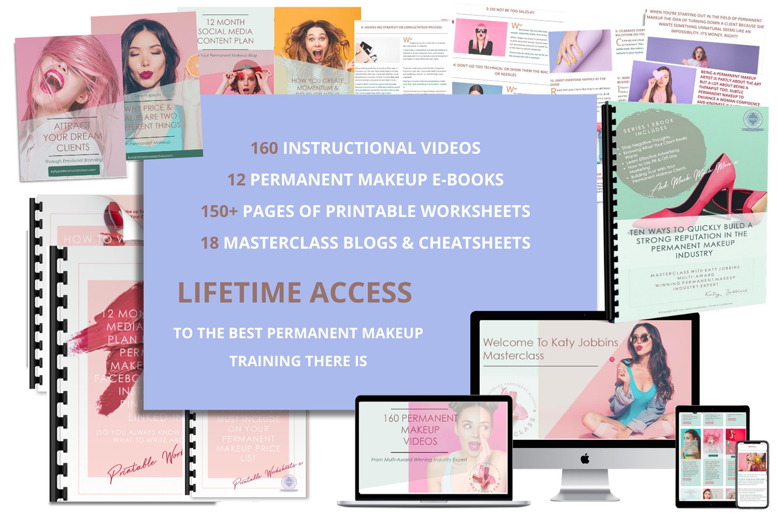 Katy Jobbins Permanent Makeup Masterclass Bundle